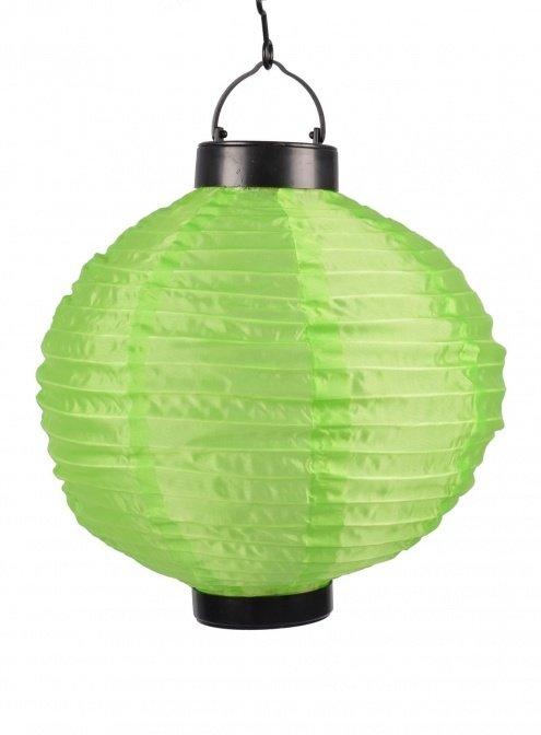 Solar-Lampion grün
