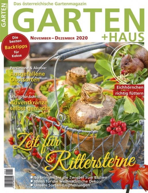 GARTEN+HAUS Ausgabe 11-12/2020