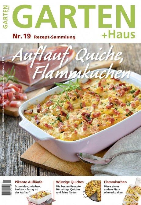 Rezept-Sammlung 19 – Auflauf, Quiche, Flammkuchen