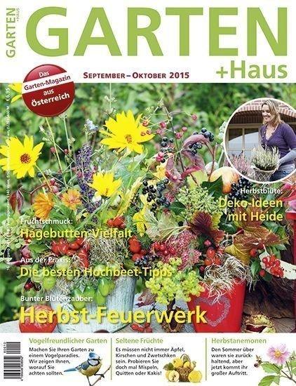 GARTEN+HAUS Ausgabe 9-10/2015