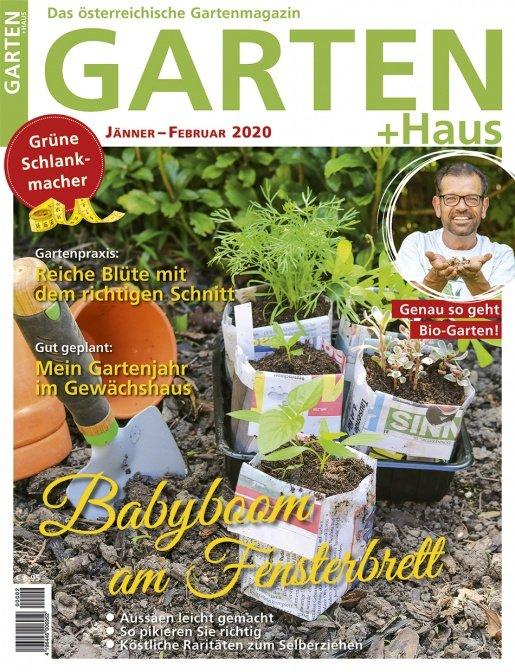 GARTEN+HAUS Ausgabe 1-2/2020