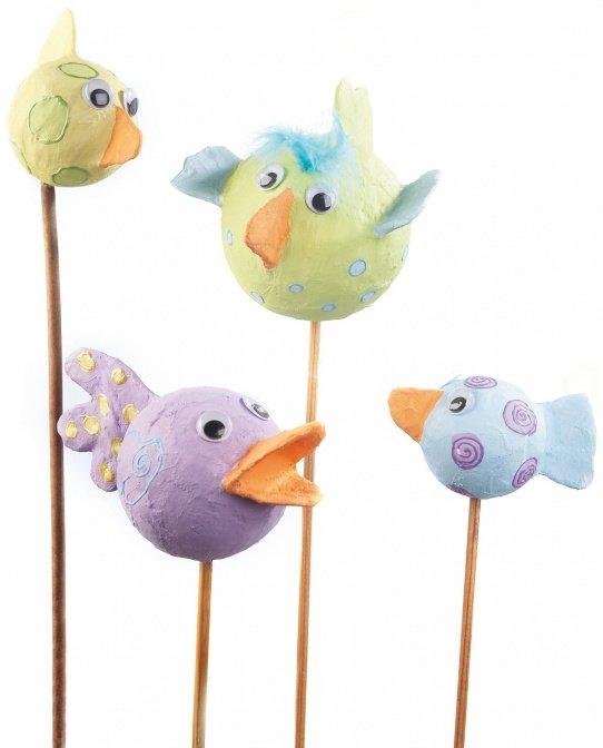Modellier-Vögel