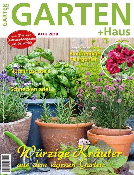 GARTEN+HAUS Ausgabe 4/2018