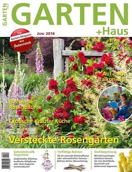 GARTEN+HAUS Ausgabe 6/2016