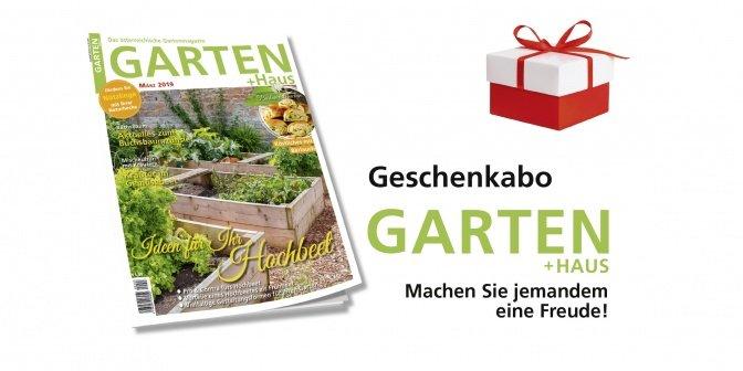 Geschenkabo GARTEN+HAUS