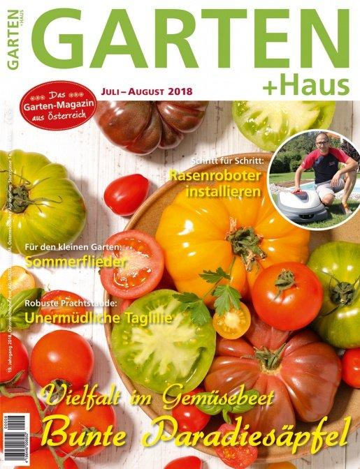 GARTEN+HAUS Ausgabe 7-8/2018