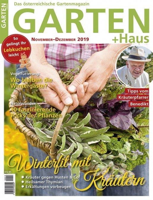 GARTEN+HAUS Ausgabe 11-12/2019