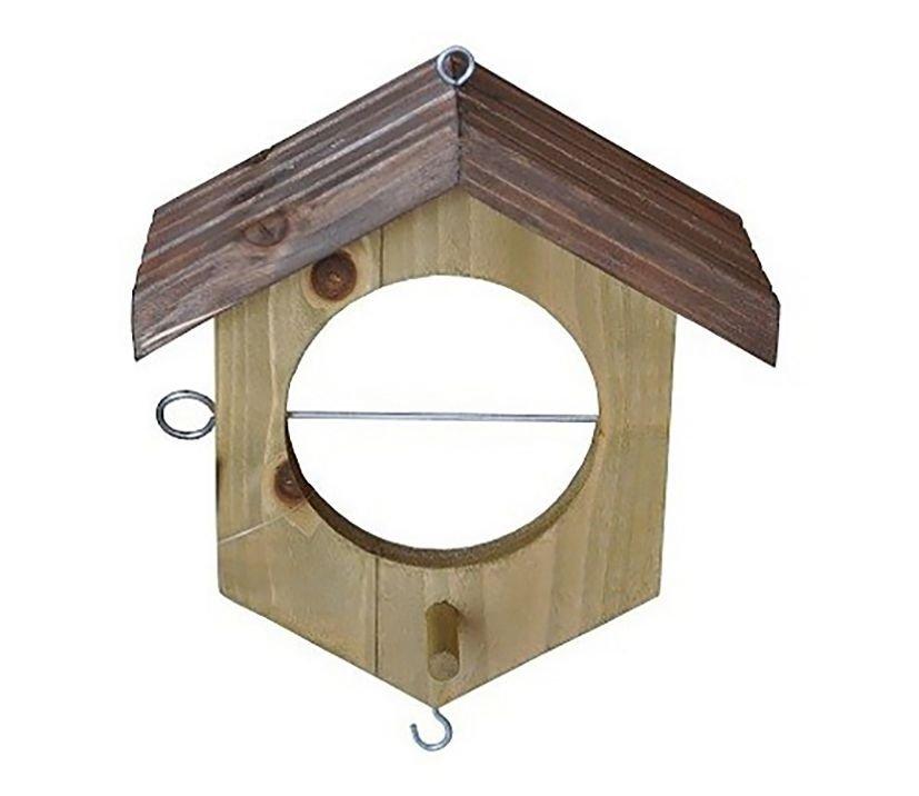 Apfel-Vogelfutterhaus