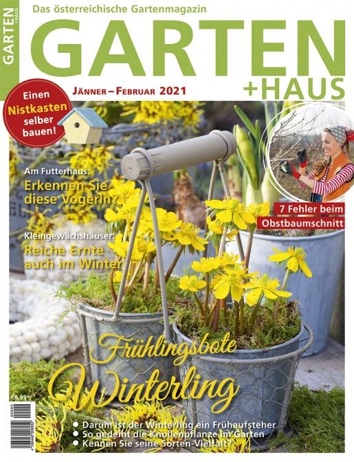GARTEN+HAUS Ausgabe 1-2/2021