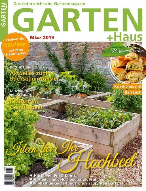 GARTEN+HAUS Ausgabe 3/2019