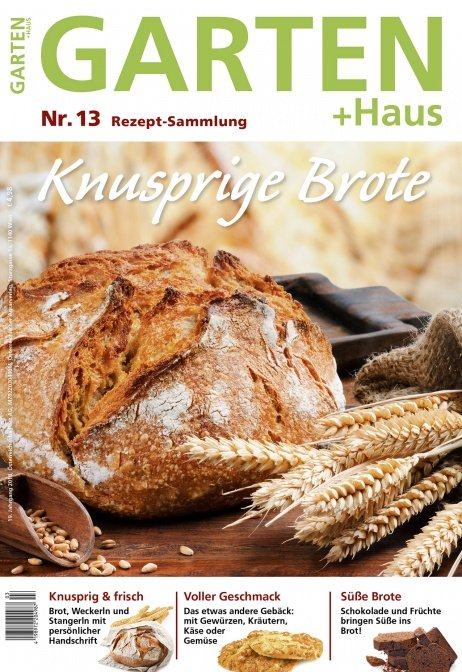 Rezept-Sammlung 13 – Knusprige Brote