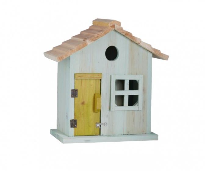 Vogelnistkasten Mit Tür und Fenster