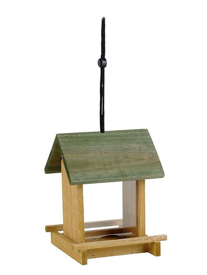 Vogelfutterhaus mit Sichtfenster