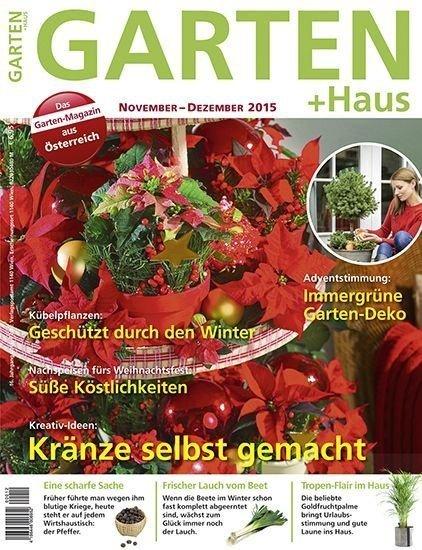 GARTEN+HAUS Ausgabe 11-12/2015