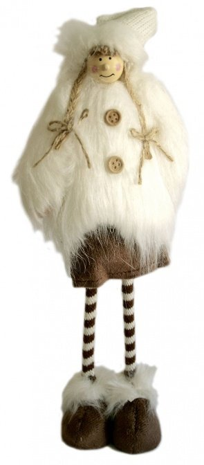 Deko-Figur Wintermädchen