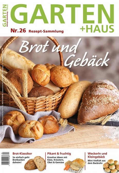 Rezept-Sammlung 26 – Brot und Gebäck