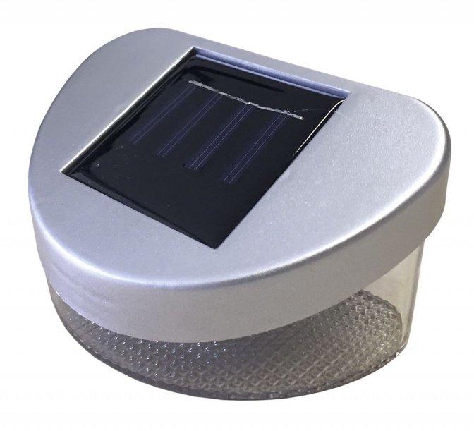 2er-Set Solarlicht für Zaun und Wand