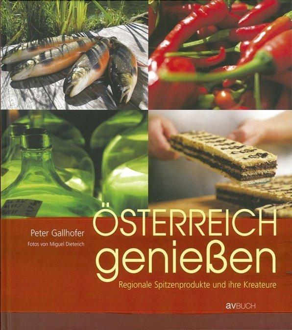 """Buch """"Österreich genießen"""""""