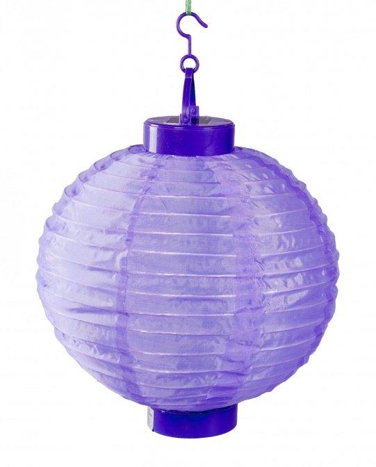 Solar-Lampion violett