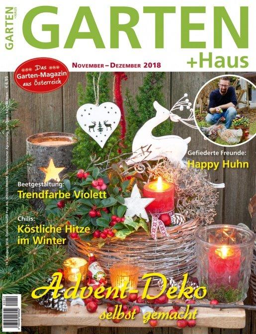 GARTEN+HAUS Ausgabe 11-12/2018